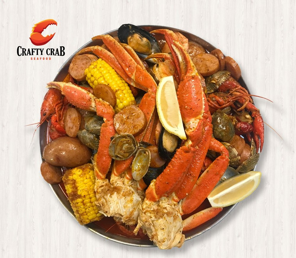 Food from Crafty Crab