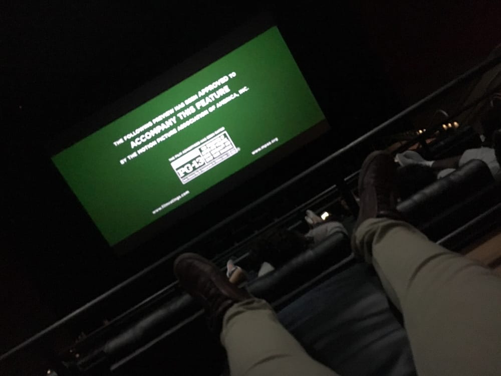 Reclining seats! Heck yeah!!! - Yelp
