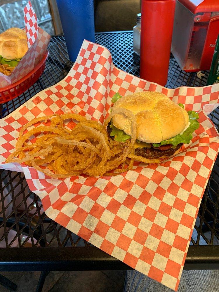 Loop 107 Burgers Bakery And More: 11505 Loop 107, Adkins, TX
