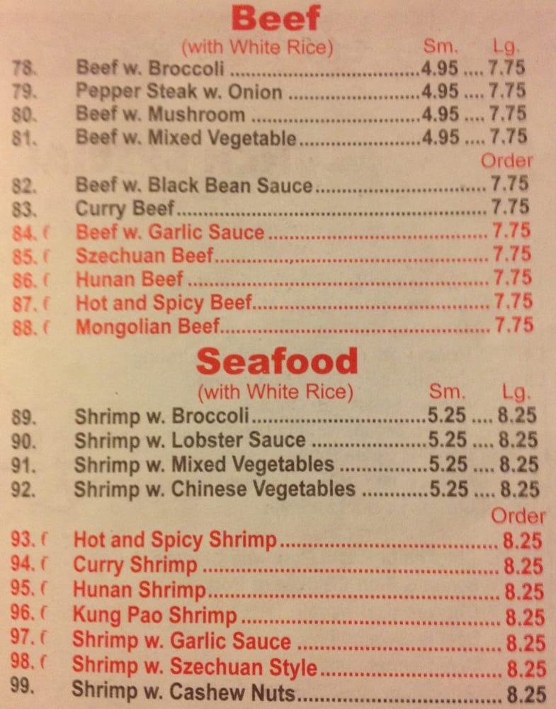 China Kitchen: 708A City Ave S, Ripley, MS