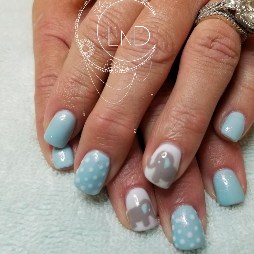 Baby Shower Nails Its A Boy Yelp