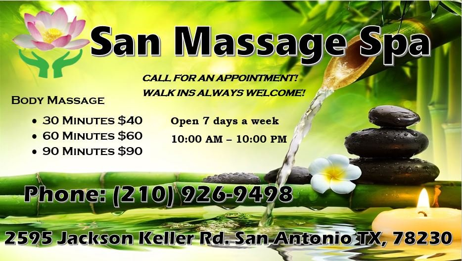 Holly's Chinese Massage Therapy San Antonio, TX