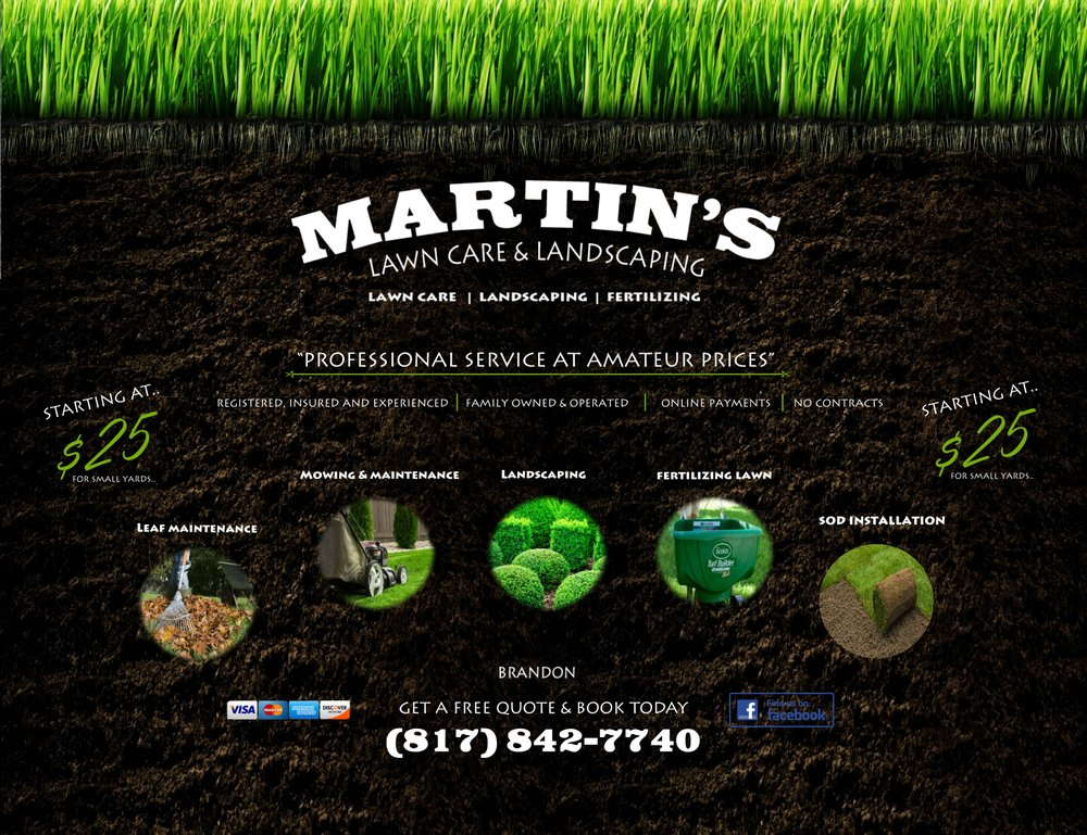 Martin's Lawn Care and Landscaping