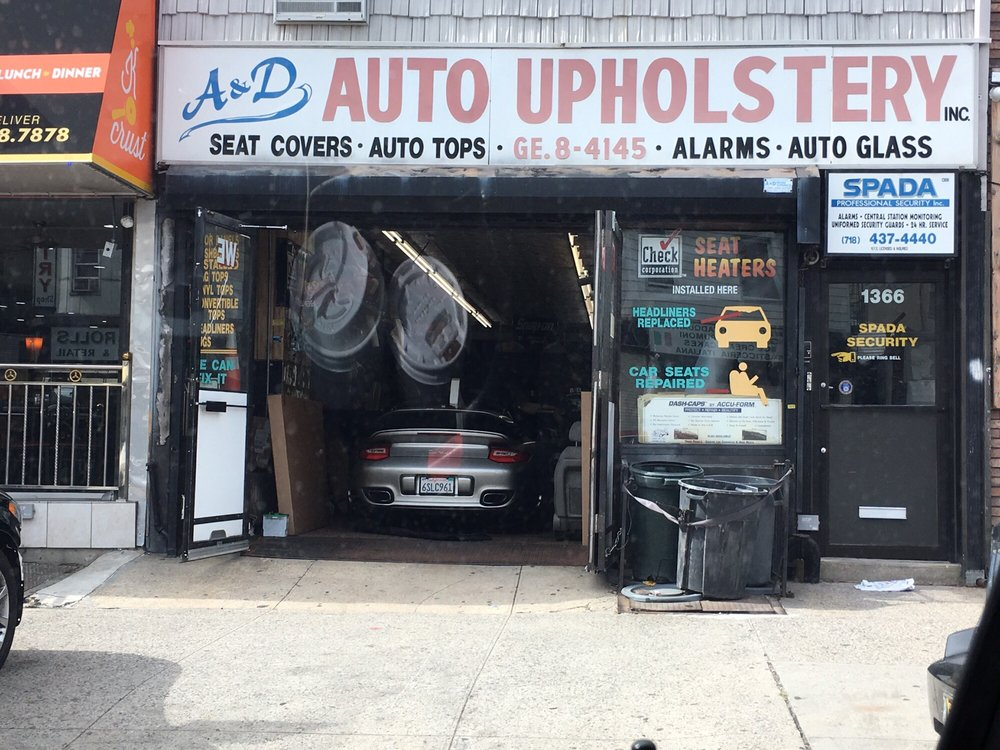 A & D Auto Upholstering