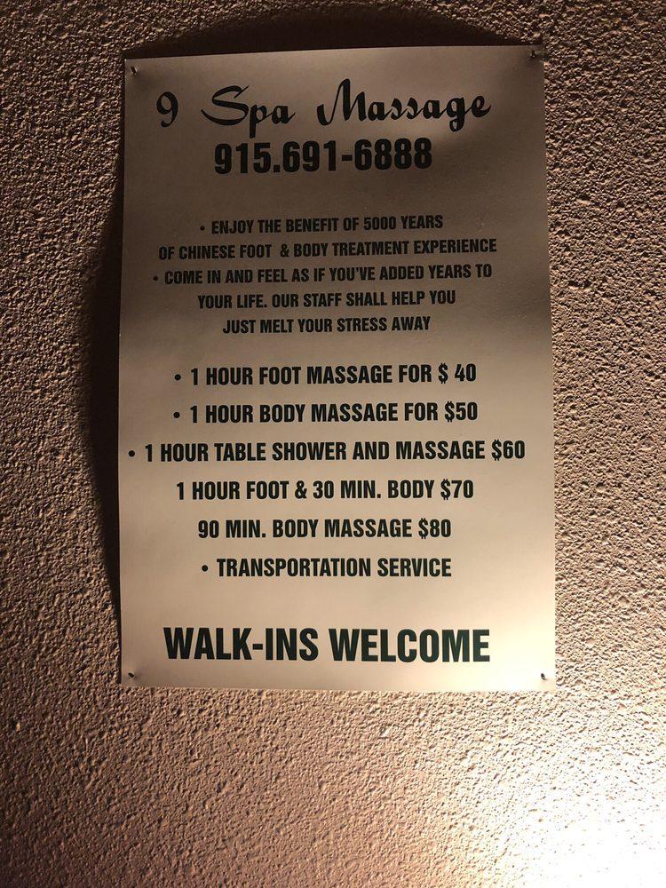 9 Spa Massage