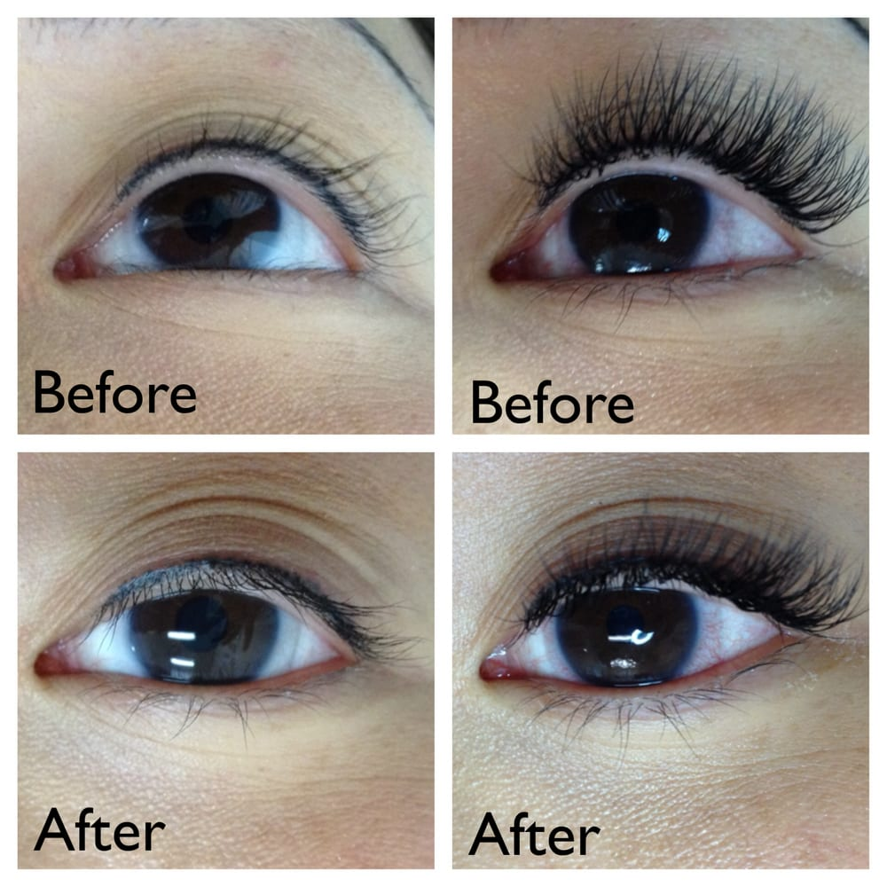 Classic lash extensions - Yelp