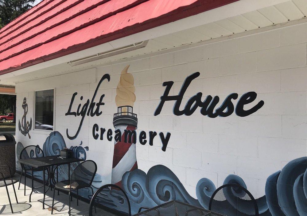 Lighthouse Creamery: 5435 Main St, Lexington, MI
