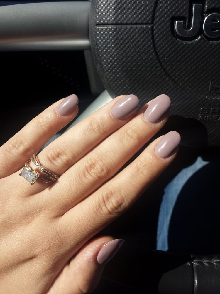 Acrylic full set with a NO CHIP overlay! Tina is the best! - Yelp