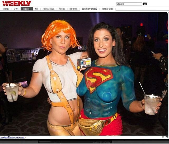 photo of artparty4u las vegas nv united states body painting featured in