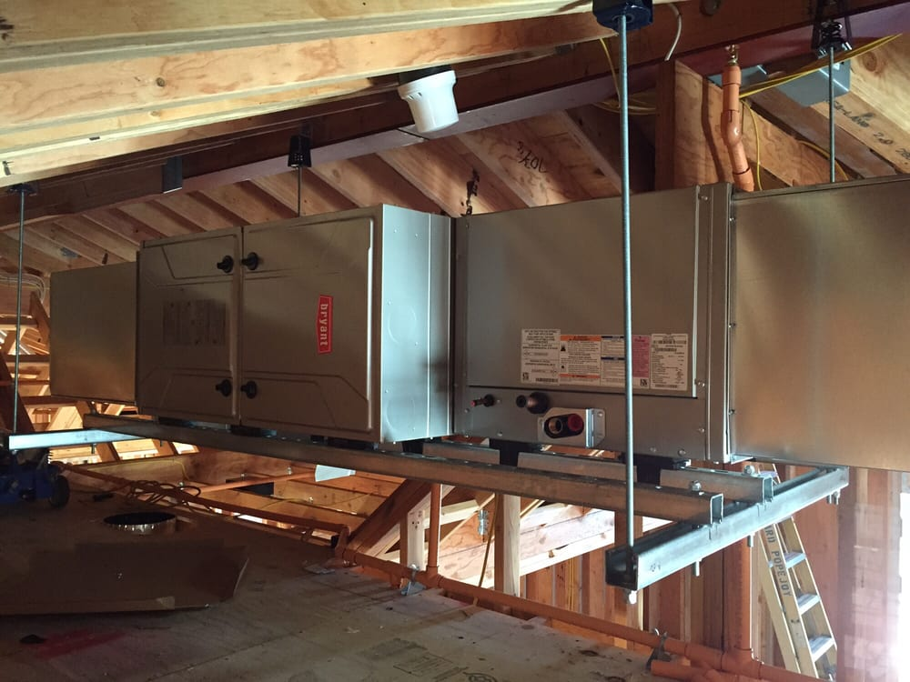New Construction 96 Efficient Bryant Furnace With Coil
