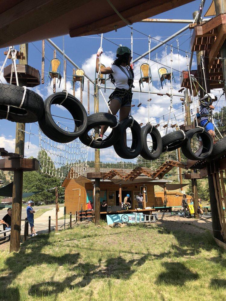 Open Air Adventure Park: 490 Prospect Village Dr, Estes Park, CO
