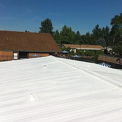 Perfect Photo Of Western Roofing   Salem, OR, United States. Salem Roof Coatings ...
