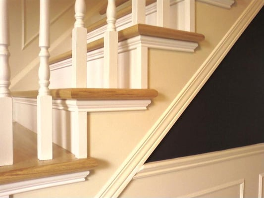 photo for wooden stairs railings - Wooden Stairs