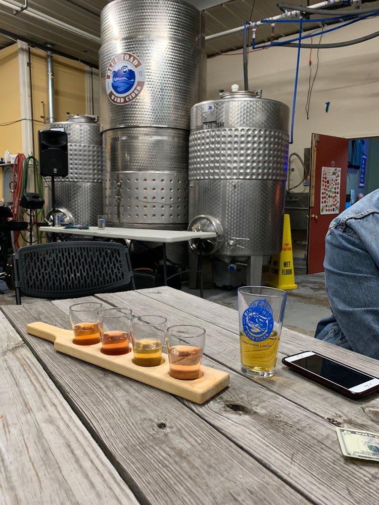 Blue Toad Hard Cider: 120 Mushroom Blvd, Rochester, NY