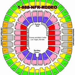 Photo Of Nfr Tickets Las Vegas Nv United States Seating Chart From