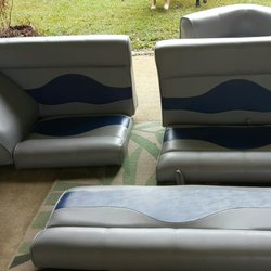 Ordinaire Photo Of Watts Upholstering Shop   Brookhaven, MS, United States. Boat  Seats Upholstered