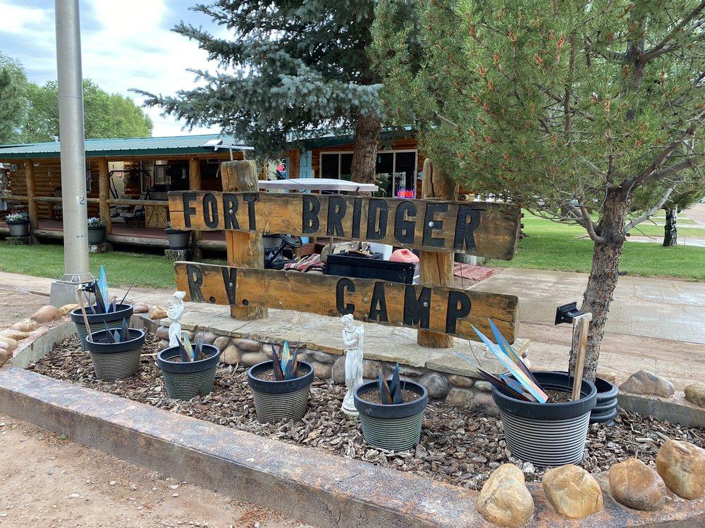 Fort Bridger Rv Camp: 64 Groshon Rd, Fort Bridger, WY