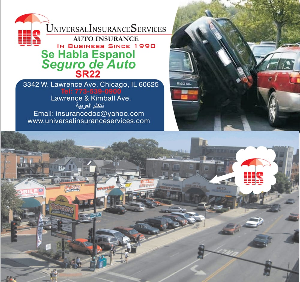 Universal Insurance Service: 3342 W Lawrence Ave, Chicago, IL