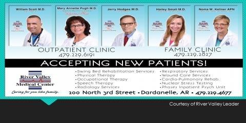 River Valley Medical Center Family Clinic: 200 N 3rd St, Dardanelle, AR