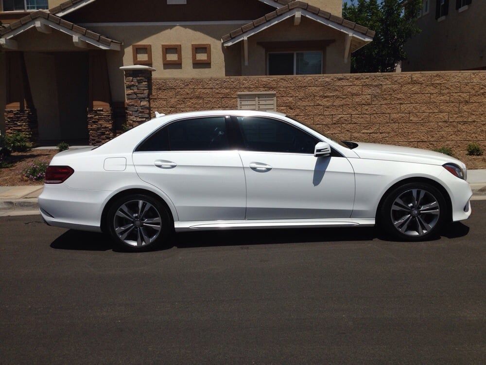 2014 mercedes benz e350 work done by mr tint thank you for Mercedes benz window tint