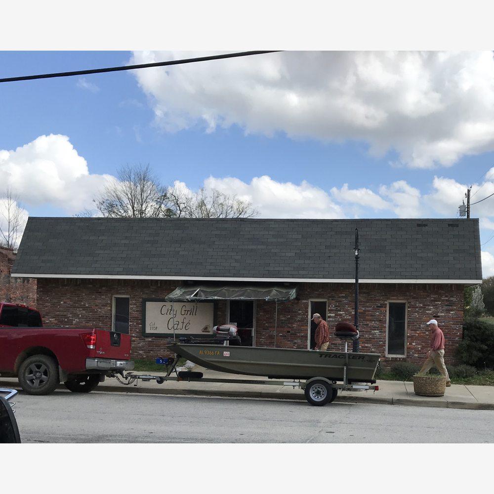 City Grill: 531 Main St, Hurtsboro, AL