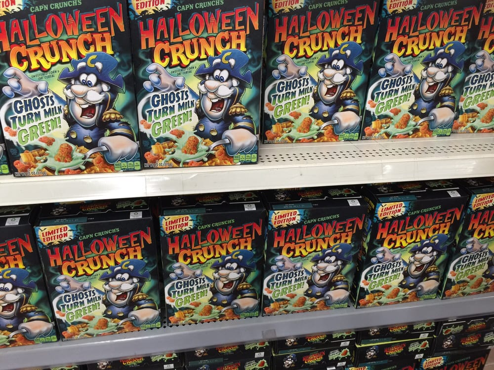 photo of walmart pearl city hi united states limited edition halloween cap - Captain Crunch Halloween