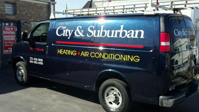City & Suburban Heating & Cooling: 3757 N St Louis, Chicago, IL