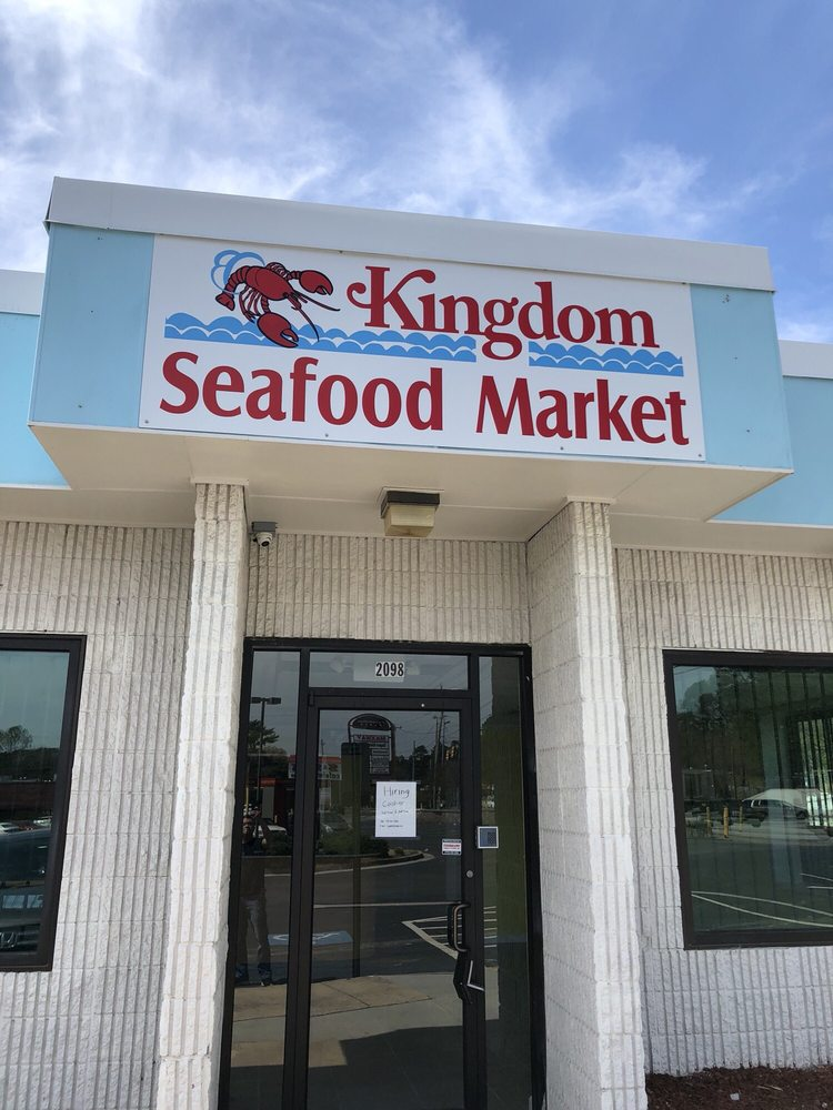 Kingdom seafood market: 2098 Campbellton Rd SW, Atlanta, GA