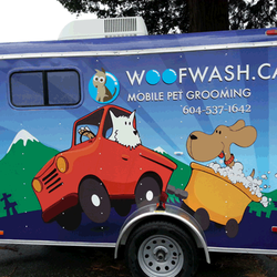 Woof Wash Mobile Dog Grooming North Vancouver Bc
