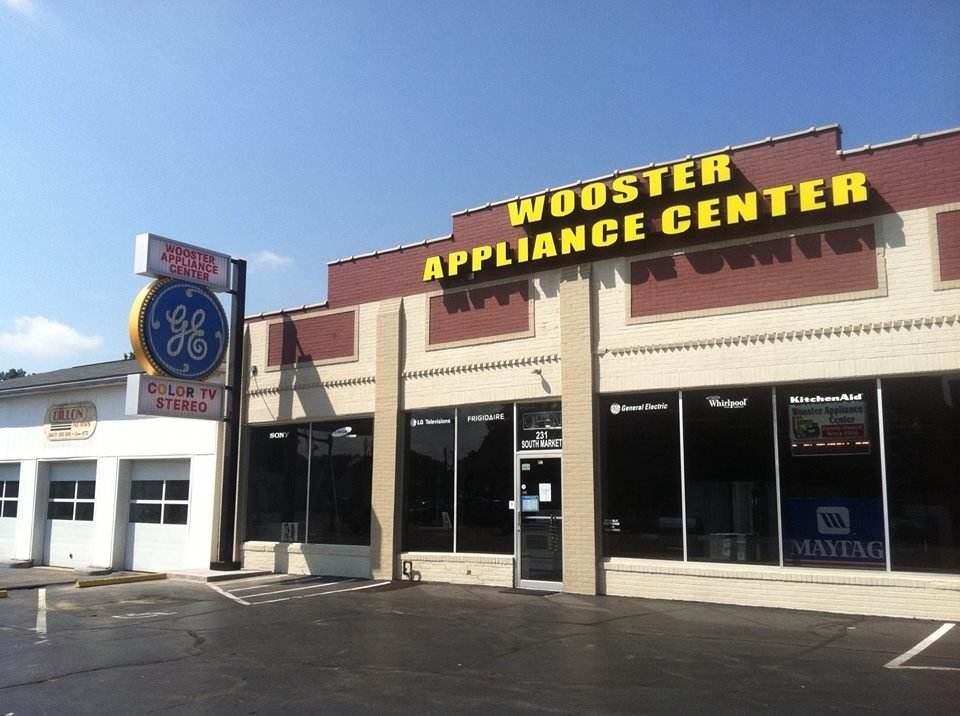 Wooster Appliance Center: 231 S Market St, Wooster, OH