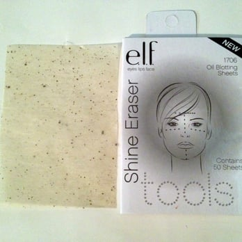 Beauty Obsessed: Review- e.l.f Shine Eraser Oil Blotting ...