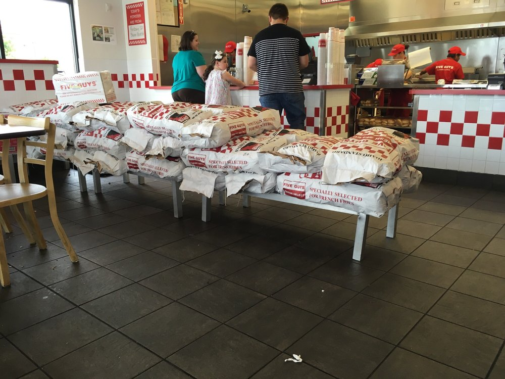 Five Guys Burgers and Fries: 2881 Florence Blvd, Florence, AL