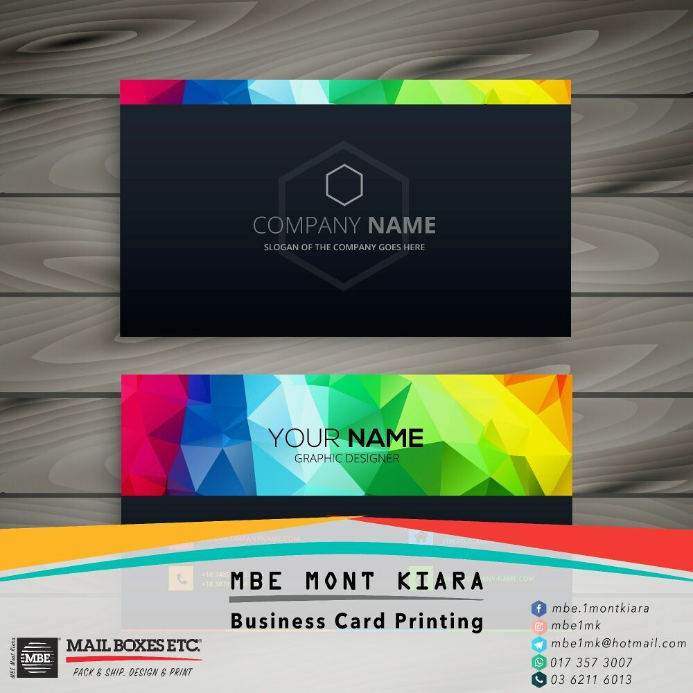 Business card printing at mbe mont kiara make a powerful first photo of mail boxes etc mont kiara mont kiara kuala lumpur malaysia reheart Image collections
