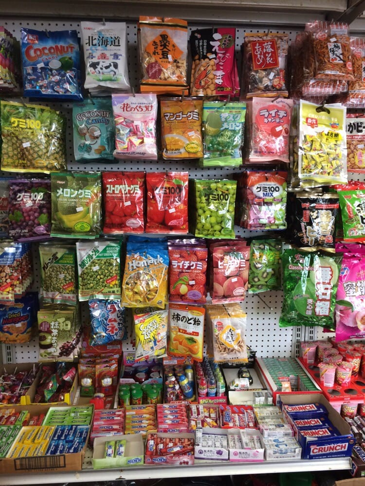 Fantasy asian candy store