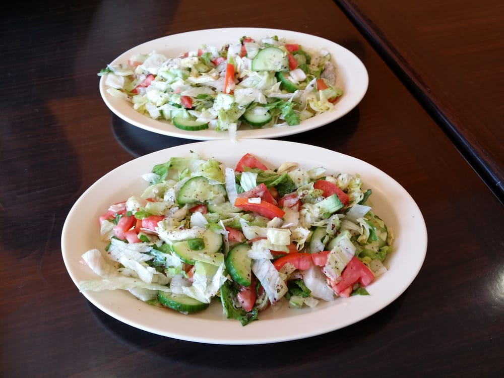 The mediterranean salad side by side yelp for Al tannour mediterranean cuisine menu
