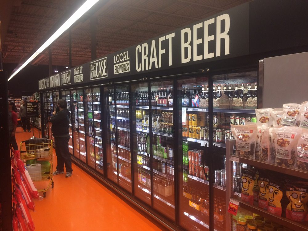 Craft beer aisle yelp for Craft stores in canada
