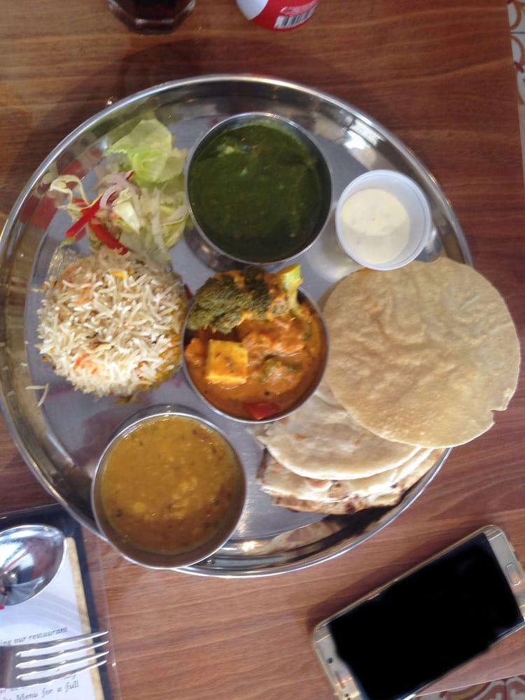Vegetarian naan set lunch yelp for Zaffron kitchen set lunch