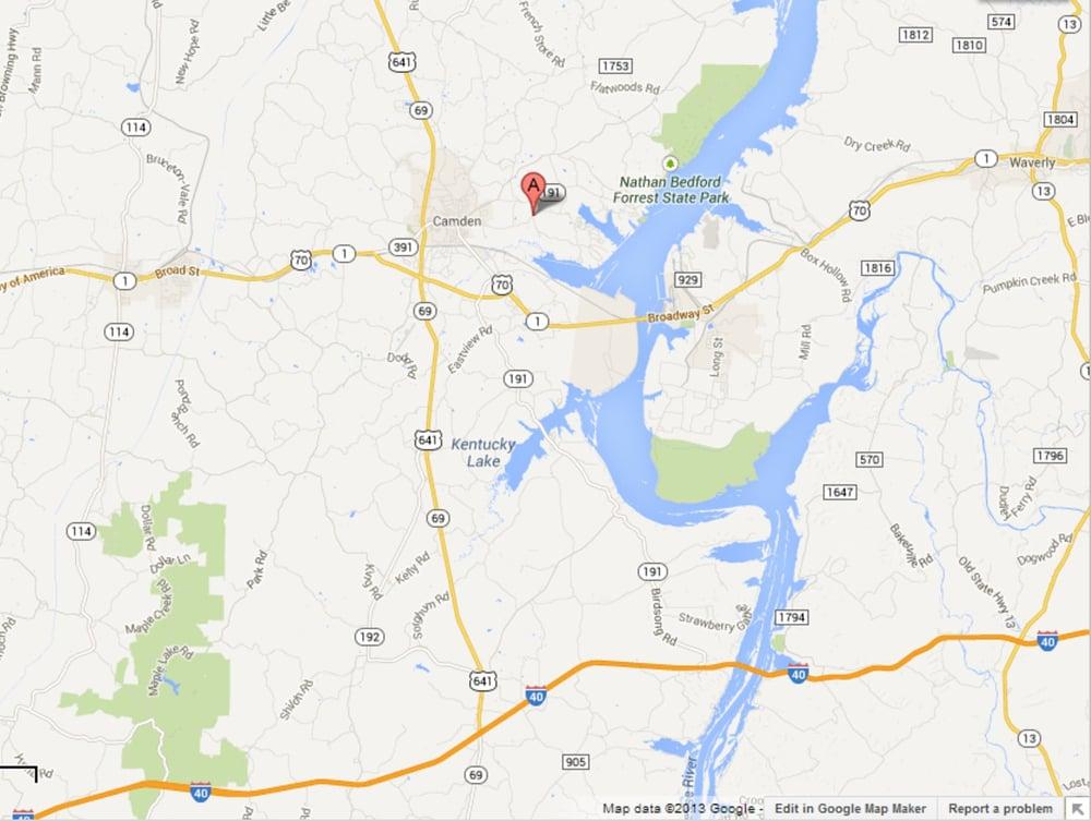 Magic Valley Golf Course: 2252 Eva Rd, Camden, TN
