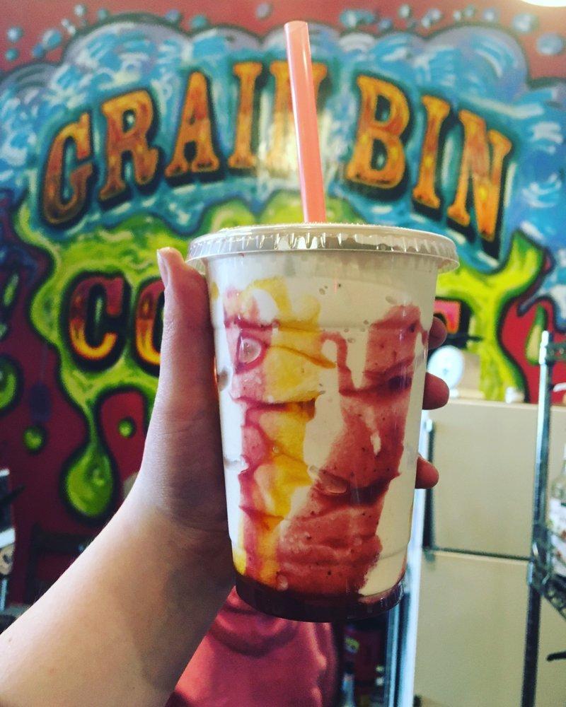 Grain Bin Coffee: 711 Lincoln Ave, Harvey, ND