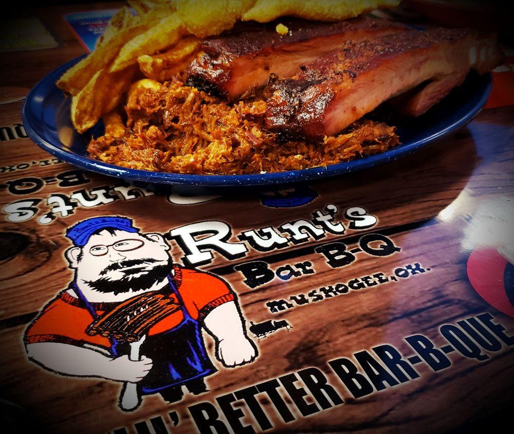 Runts Bar-B-Q & Grill: 3003 W Okmulgee St, Muskogee, OK