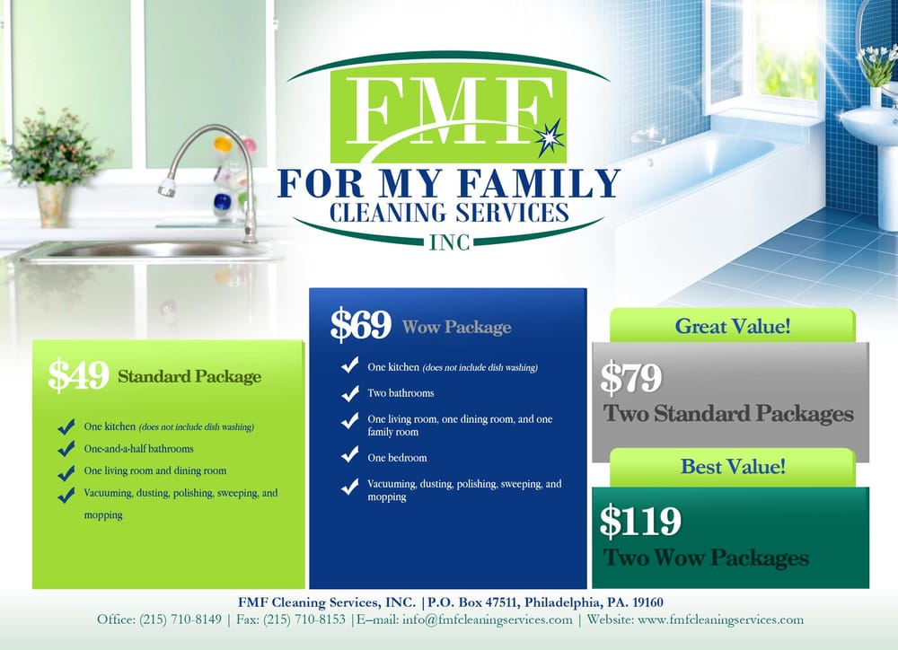 cleaning services advertising templates - fmf cleaning services 28 reviews home cleaning