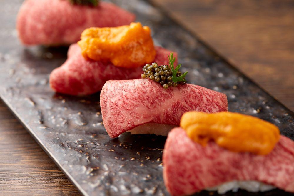 Erouma Yasai & Nikubar Kan Beef Shinjuku