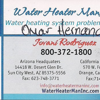 Water Heater Man 12 Photos Amp 47 Reviews Water Heater