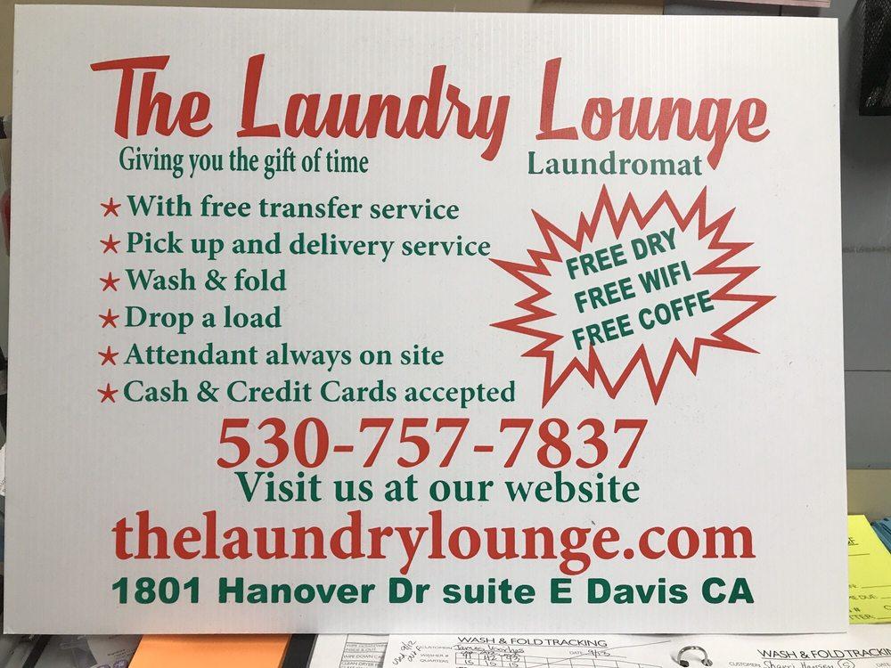 The Laundry Lounge: 1801 Hanover Dr, Davis, CA