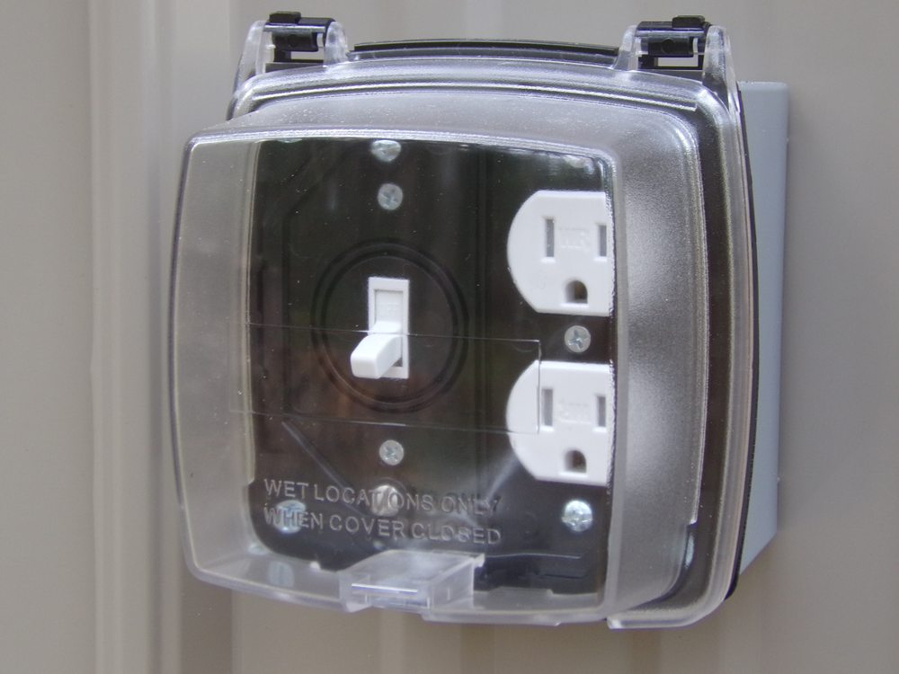 Outdoor Waterproof Electrical Outlet And Switch Yelp
