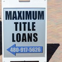 Photo Of Maximum Title Loans Chandler Az United States