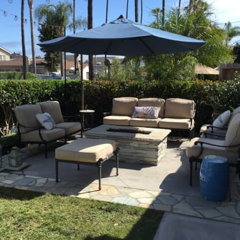 Photo Of NeWave Construction   Costa Mesa, CA, United States. Finished  Flagstone Boarder