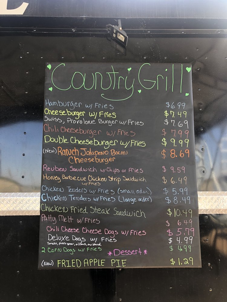 Country Grill Food truck: New Deal, TX