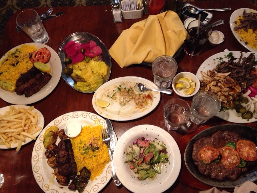 Ajami Restaurant Dearborn Menu