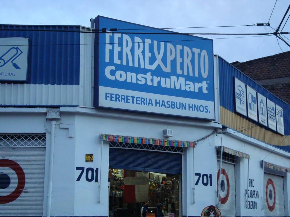 Ferreter a hasb n materiales de construcci n for Ferreteria cerca de mi ubicacion